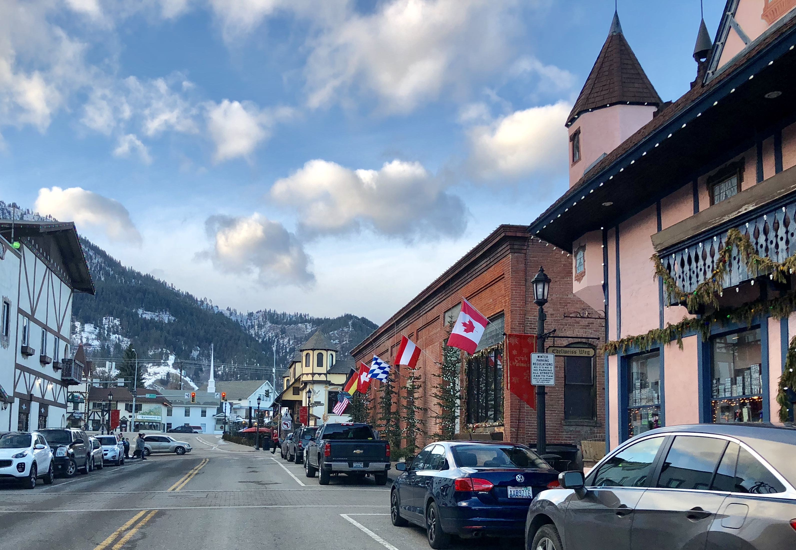 Downtown Leavenworth. Photograph by Rianna Richards, Blogs, Writer, Blogger