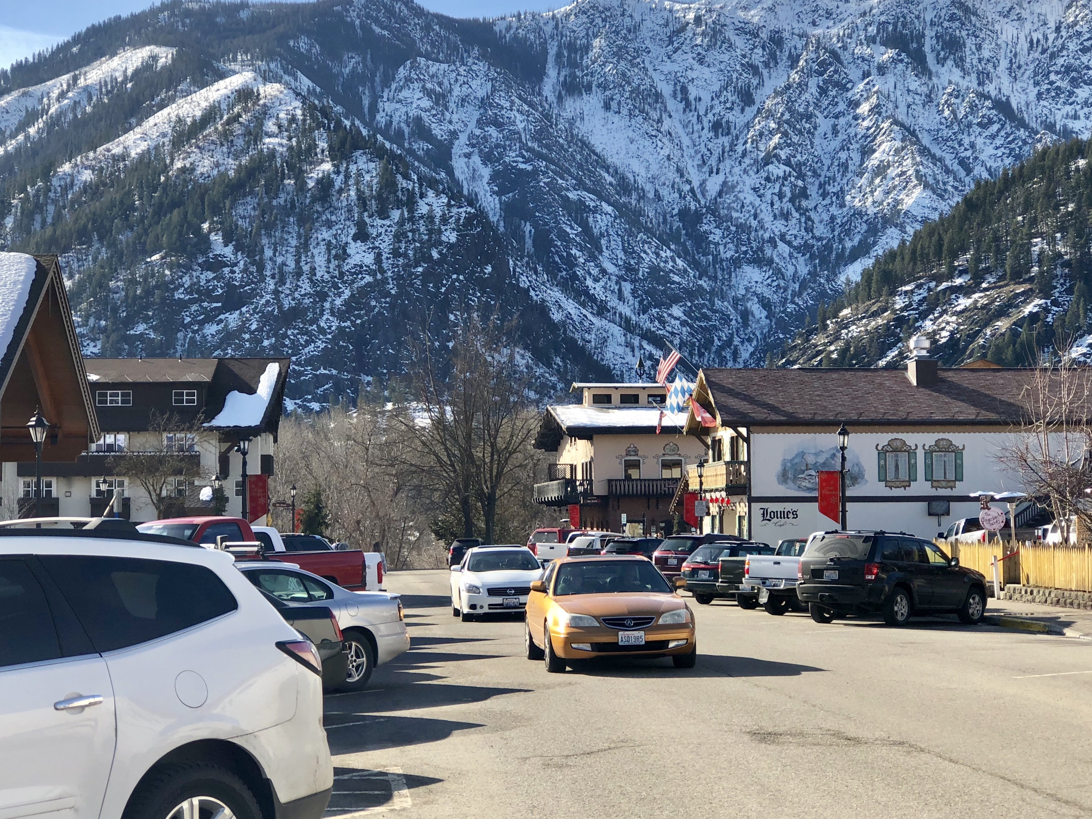 The town of Leavenworth. Photograph by Rianna Ricards 2/03/2018. Blogs Writer