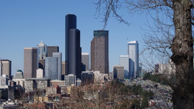 Downtown Seattle taken from Beacon Hill - Photo by Rianna Richards Feb 05, 2014