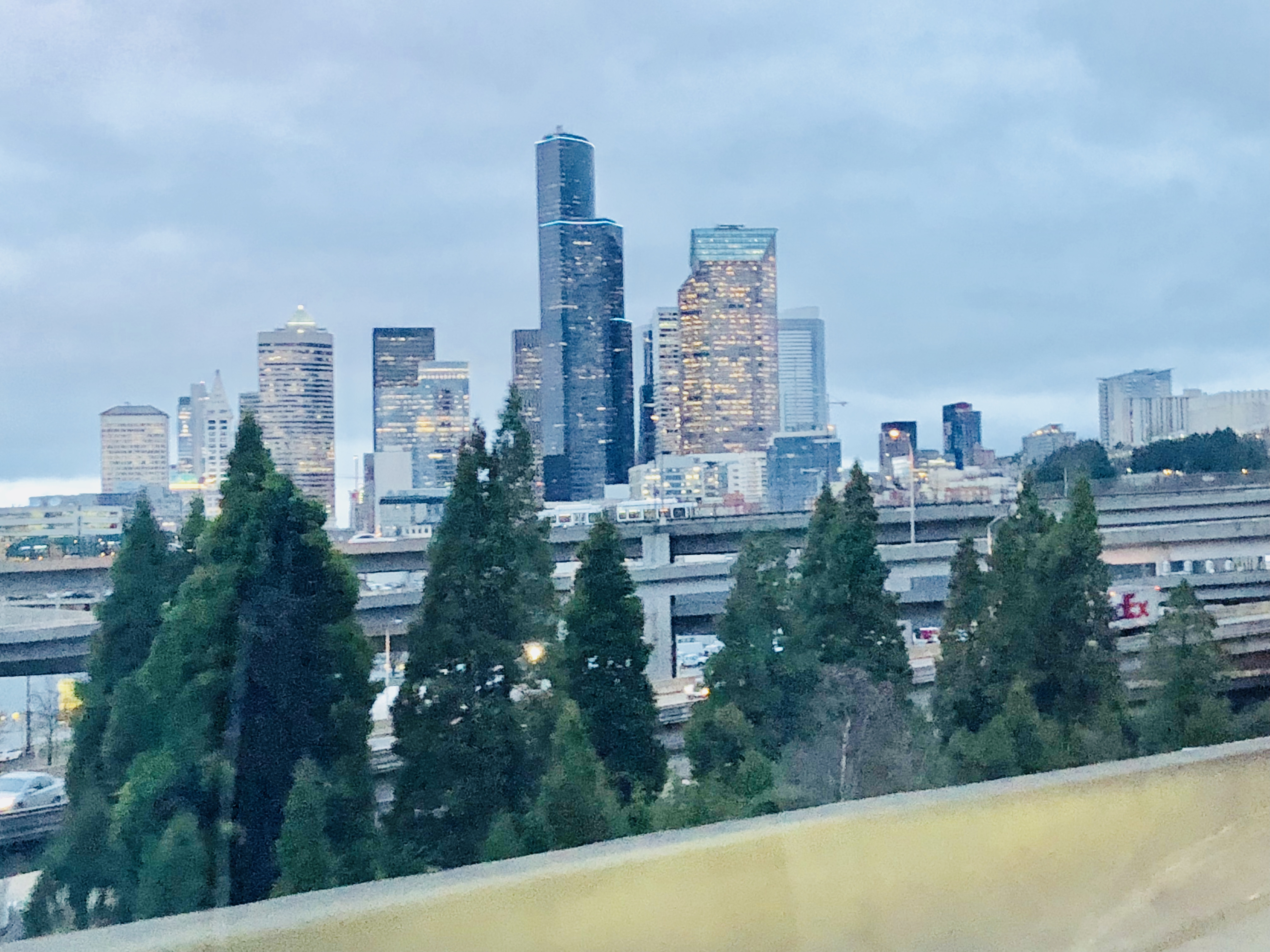 Downtown Seattle - Photograph by Rianna Richards on Feb. 02, 2018. Blog, Novel