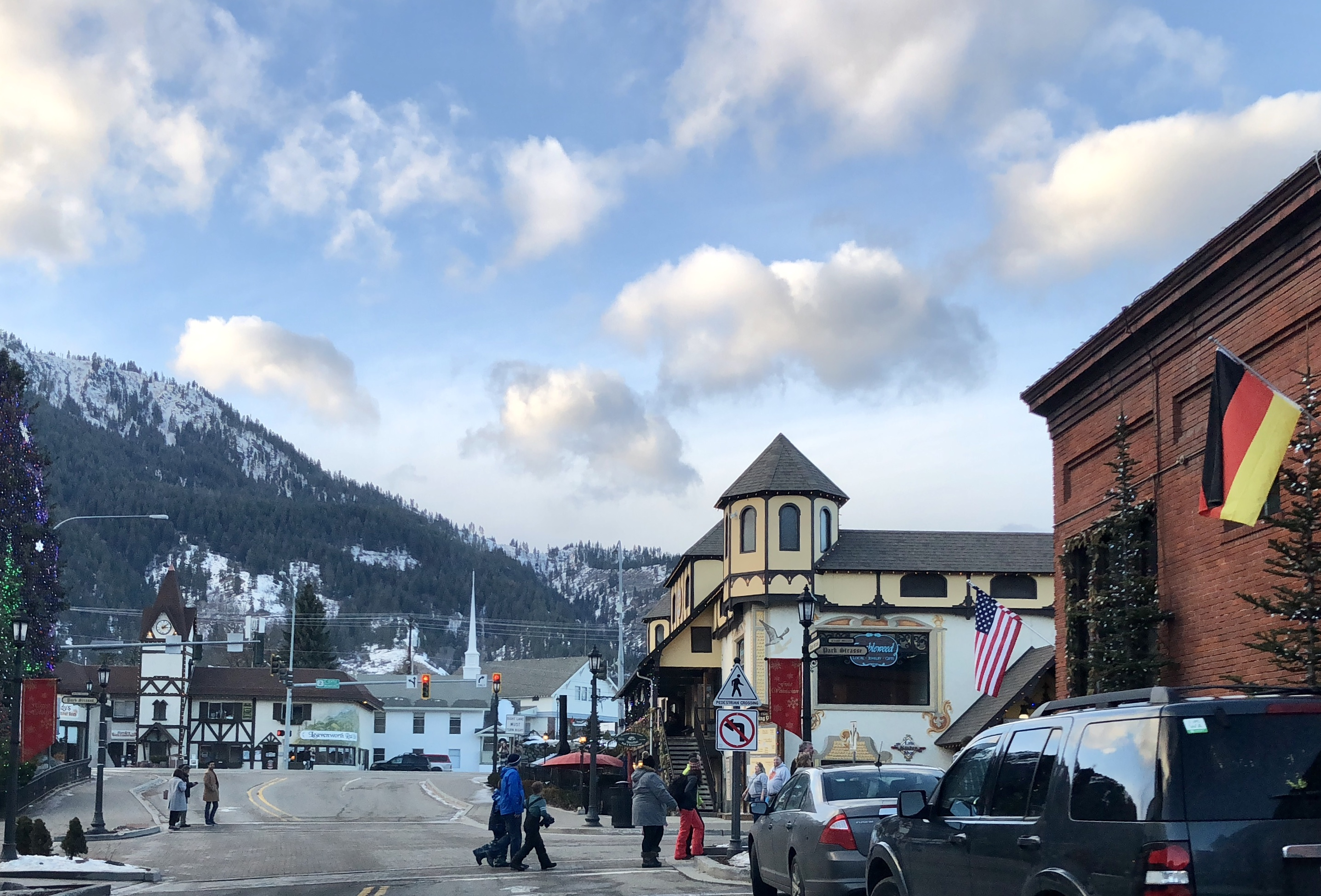 The village center of Leavenworth. Photograph by Rianna Richards, Blogs, Writer